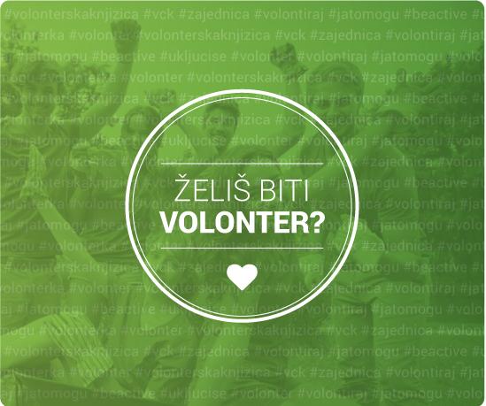 Želiš biti volonter?