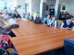 HRVATSKA VOLONTIRA: Pričaonica DND-a Ozalj