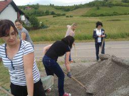 Volonterska akcija u Podbrežju
