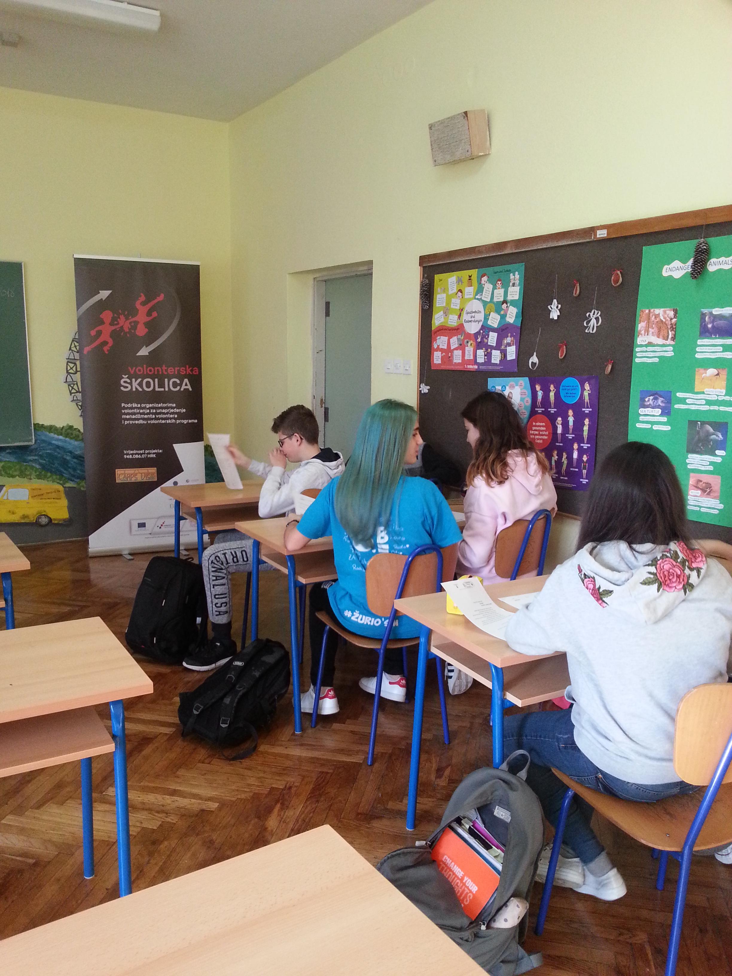 Provedena Analiza Potreba U Sklopu Projekta Volonterska Skolica