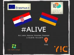 """Act, Learn, Improve, Volunteer, Empower – ALIVE"" – uspješno proveden drugi EVS projekt"
