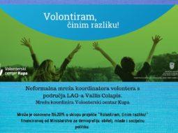 Osnovana neformalna mreža koordinatora volontera  s područja LAG-a Vallis Colapis!