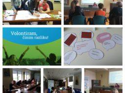 Održane izobrazbe o Potvrdi o kompetencijama stečenim kroz volontiranje!