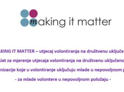 Predstavljen alat za mjerenje utjecaja volontiranja