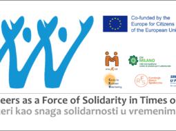 """""""Volonteri kao snaga solidarnosti u vrijeme krize"""" – istraživanje"""