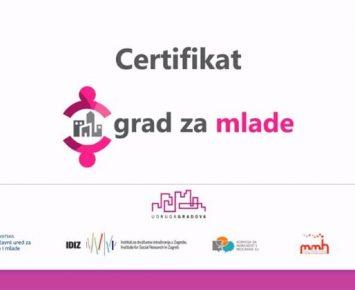 Grad Karlovac će nositi titulu Grada za mlade u razdoblju od 2021. do 2024. godine!