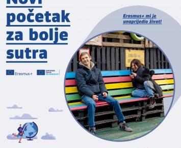 """""""Novi početak za bolje sutra – Erasmus+ i Europske snage solidarnosti"""""""